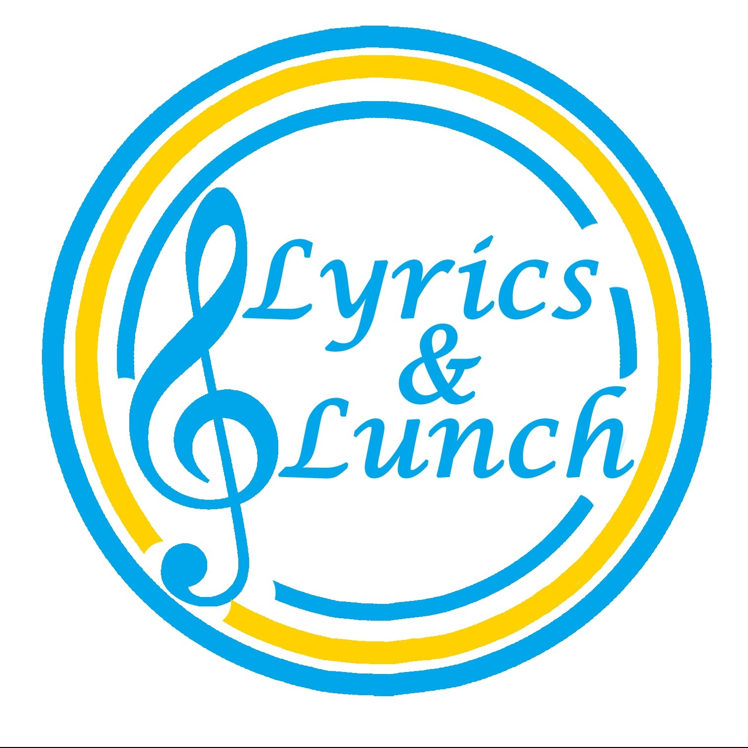 Lyrics and Lunch music to feed the brain and lunch to enjoy together